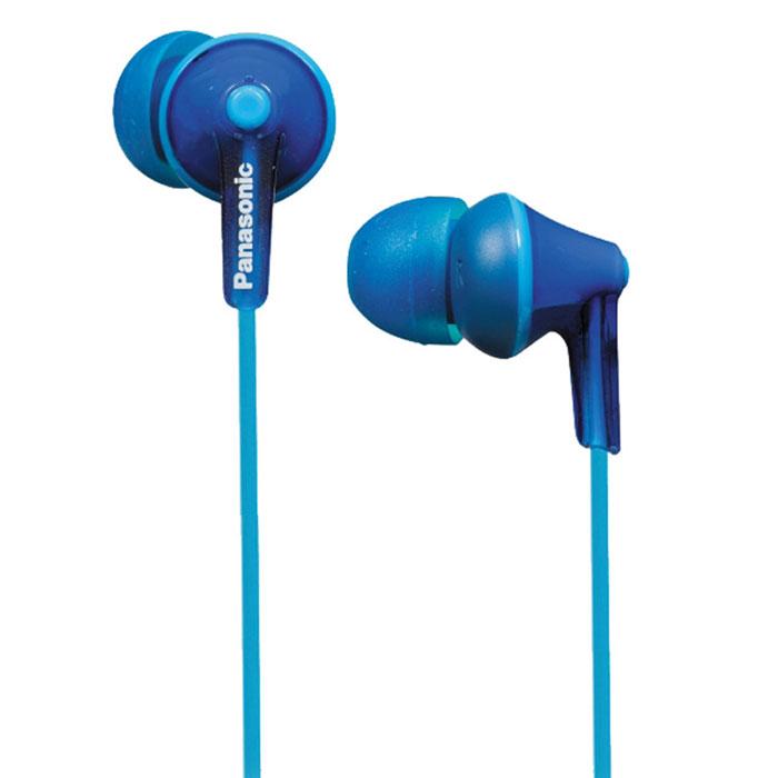 Panasonic RP-HJE125E, Blue наушникиRP-HJE125E-APanasonic RP-HJE125E - наушники-вкладыши, основанные на эргономичном дизайне Ergofit, обеспечивающем комфорт при использовании. За качественное звучание отвечает динамик OctaRib. Корпус, провода и амбушюры выполнены в одной цветовой гамме, что подчеркивает единство дизайна. В комплект входят три пары амбушюров разного размера для максимального удобства пользователей.