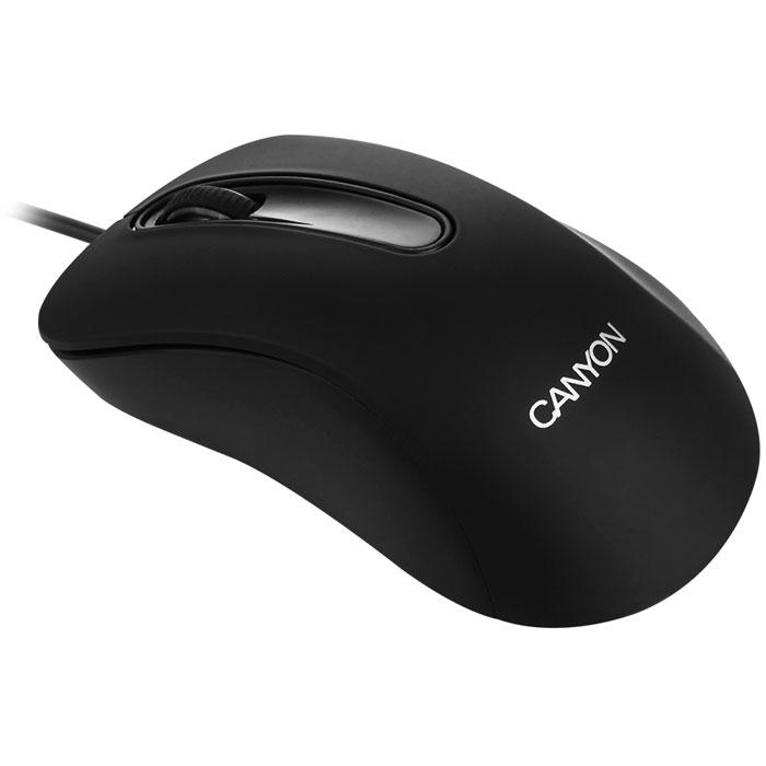 Canyon CNE-CMS2, Black мышьCNE-CMS2Canyon CNE-CMS2 - эта простая оптическая мышь с тремя кнопками имеет эргономичную форму и приятное на ощупь прорезиненное покрытие. Отличный выбор за небольшую сумму.