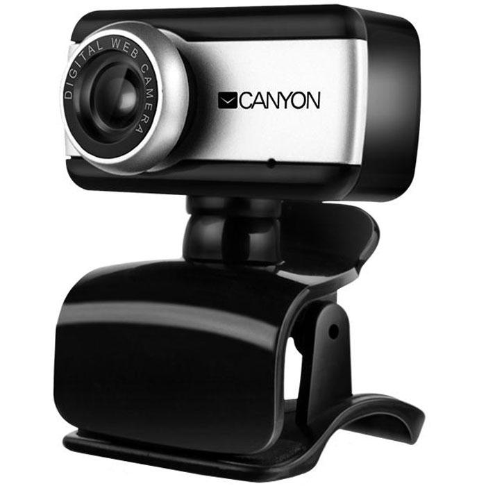 Canyon CNE-HWC1 веб-камераCNE-HWC1Веб-камера Canyon CNE-HWC1 со встроенным микрофоном и удобным зажимом для крепления представляет оптимальное сочетание цены и качества для домашнего использования. Помимо передачи видео, камеру можно использовать для записи роликов и фотографирования. Вращение корпуса на 360° обеспечивает удобную установку камеры на разных поверхностях.Максимальная частота кадров: 30 кадр/с