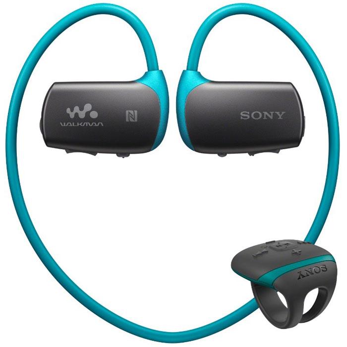 Sony Walkman NWZ-WS613 4GB, Dark Blue MP3-плеерNWZWS613L.EEЗанимайтесь спортом без перерыва: водонепроницаемый Walkman NWZ-WS613 поставляется с легкими наушниками с облегающим ободом, которые будут плотно сидеть на голове, когда вы плаваете в бассейне или бежите по беговой дорожке. Благодаря технологиям NFC и Bluetooth вы можете просто слушать музыку, сосредоточившись на тренировке.NFC и Bluetooth:Приложите мобильное устройство Android с поддержкой NFC к наушникам NWZ-WS613, и соединение будет установлено мгновенно. Теперь можете слушать музыку через Bluetooth. Устройство iOS можно подключить вручную с помощью Bluetooth.Водонепроницаемый дизайн:Слушайте музыку во время плавания с помощью универсальных водонепроницаемых наушников, которые можно погружать в воду на глубину до 2 м.Всегда под рукой:Компактный пульт дистанционного управления с защитой от брызг: все под контролем даже в движении. Прикрепите пульт к пальцу или запястью и легко переключайте композиции, не прекращая тренировку и при любой погоде.Свобода движения:Удобные и универсальные беспроводные наушники сделаны, чтобы быть всегда в движении вместе с вами. Забудьте о перепутанных проводах и сосредоточьтесь на тренировках.Всегда на месте:Легкие облегающие наушники с ободом плотно прилегают к голове и надежно сидят на ней даже при выполнении упражнений.