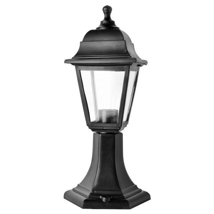 Светильник садовый НТУ04-1-60-Е27 черныйНТУ04Уличный светильник — ночник. Широкая цветовая гамма. Плафон из термоустойчивого пластика создает мягкое освещение. Используется только энергосберегающая лампа (не входит в комплект). В комплекте инструкция по сборке светильника.