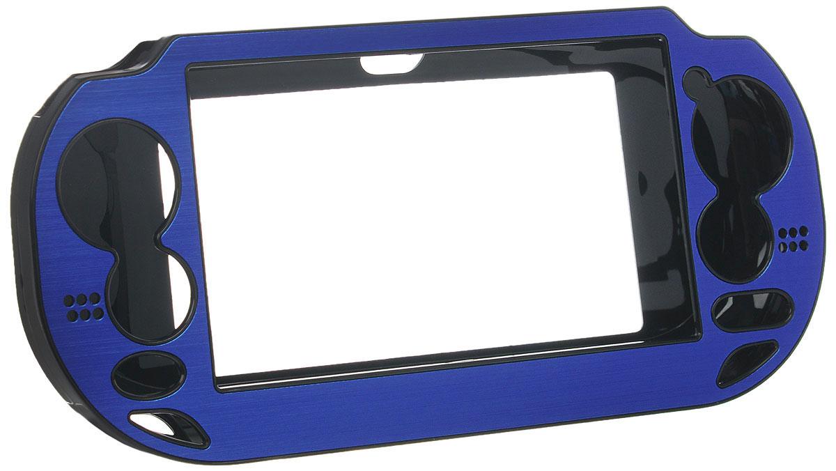 где купить  Защитный металлический чехол Black Horns для PS Vita (синий)  дешево