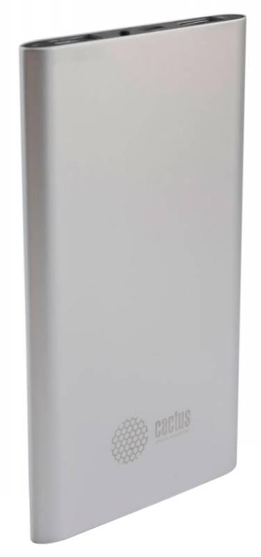 Cactus CS-PBA12-4000S, Silver внешний аккумулятор (4000 мАч)