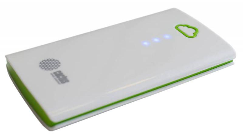 Cactus CS-PBA40-4700WB, Green White внешний аккумулятор (4700 мАч)