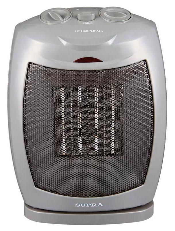 Supra TVS-PS15, Dark Grey тепловентиляторTVS-PS15 dark greyКерамический тепловентилятор Supra может использоваться как в качестве дополнительного источника тепла, так и в качестве обычного вентилятора. Регулируемый термостат и мощность обдува позволит подобрать оптимальные климатические условия. Для безопасного использования имеется защитная система от перегрева устройства.