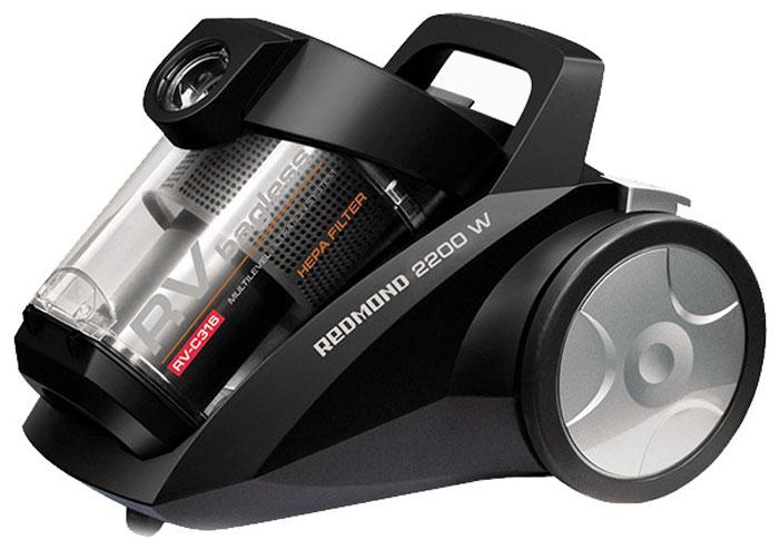 Redmond RV-С316, Black пылесос