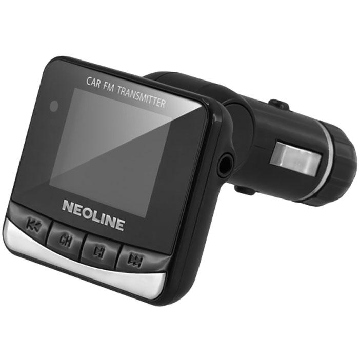 Neoline Flex FM, Black FM-трансмиттерFlex FMАвтомобильный FM-трансмиттер Neoline Flex FM - устройство, генерирующее радиоволны в FM-диапазоне. Используется для расширения возможностей штатных аудиосистем автомобиля, которые не поддерживают воспроизведение звука с цифровых носителей. Позволяет передавать и проигрывать самые популярные форматы музыкальных файлов. Действительно качественный звук!Использовать FM-трансмиттер совсем не сложно – нужно вставить его в разъём прикуривателя, после чего настроить одинаковую частоту на нём и вашей магнитоле или музыкальном центре. После этого вы сможете наслаждаться прослушиванием ваших любимых композиций с любого USB-носителя или SD карты.