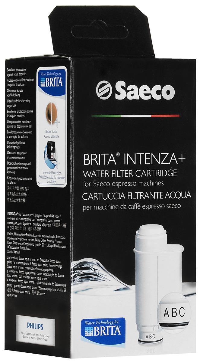 Philips Saeco CA6702/00 Brita Intenza+ фильтр для водыCA6702/00Инновационный картридж фильтра для воды Philips 6702/00 Brita Intenza + специально разработан для зашиты Вашей любимой эспрессо-кофемашимы Philips Seaco. Он идеально фильтрует воду, усиливая аромат и сохраняя безупречный вкус кофе.Чистая фильтрованная вода для более богатого аромата: Вода - это незаменимый ингредиент, без которого не получится приготовить кофе. Для превосходного вкуса напитка необходимо проводить качественную фильтрацию воды. Именно поэтому все эспрессо-кофемашины Saeco могут быть дополнительно оснащены инновационным фильтром для воды Intenza+. Компания Philips разработала этот фильтр совместно с компанией Brita - ведущим поставщиком бытовых фильтров для воды во всем мире. Просто установите уровень жесткости воды, и передовая технология сделает все остальное. Результат - идеальная вода для приготовления невероятно ароматного эспрессо. Параметры настройки для выбора степени насыщенности аромата: Настройки этой системы можно изменить для создания оптимальной насыщенности аромата кофе в зависимости от ваших личных предпочтений. Защищает систему от накопления накипи:Фильтр для воды Intenza+ помогает защитить кофемашину от образования известкового осадка, который ухудшает вкус и аромат вашего кофе. Система Click & Go: Этот картридж фильтра для воды легко устанавливается в резервуар и готов к использованию менее чем через полминуты. Может использоваться со всеми устройствами Saeco (кроме Saeco Vienna): Совместимо с: A Modo Mio Lavazza, Exprelia, Incanto Base/De Luxe, Intellia, Nina (ручные), Odea, Poemia (ручные), Primea, Royal Old & 2011, Syntia (все модели), Talea (все модели), Xeasy 2011, Xelsis, Xsmall, Gaggia Accademia, Gaggia Unica, Gaggia Platinum, Gaggia Brera, My Coffee Spidem. Более эффективный процесс приготовления: Фильтр для воды обеспечивает неизменную температуру и постоянное давление, необходимое для приготовления кофе, и повышает производительность вашей эспрессо-кофемашины. Ч