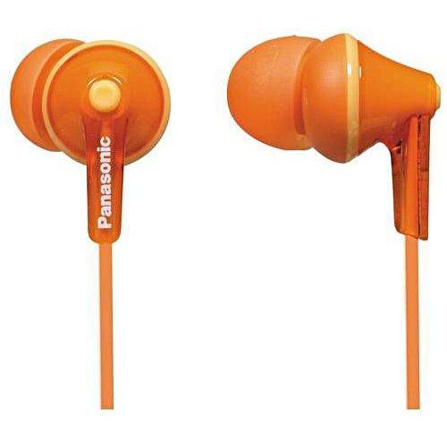 Panasonic RP-HJE125E, Orange наушникиRP-HJE125E-DОснованы на мощном динамике OctaRibШирокий диапазон частот: 10 Гц – 24 кГцДизайн Ergofit: комфортная и точная фиксация в ухеЕдиная цветовая гамме корпусов и кабелей3 пары сменных амбушюр в комплекте