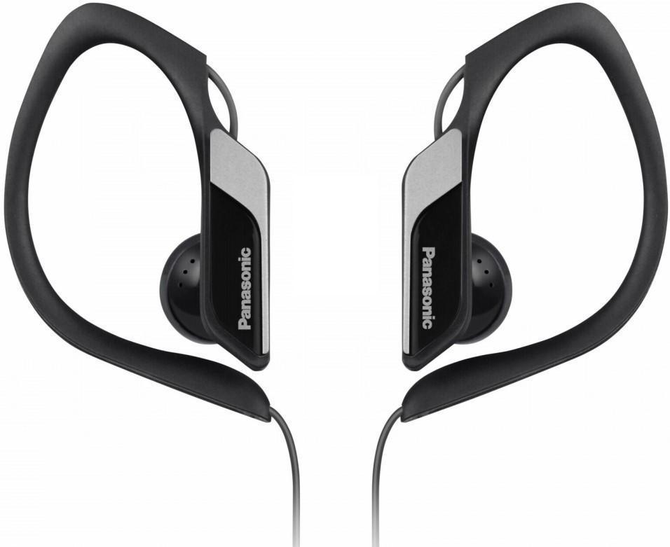 Panasonic RP-HS34E-K, Black наушникиRP-HS34E-KПредназначены для занятий спортомНадежно защищены от влаги и воды: эквивалент IPX2Выдают четкие и чистые низкие частотыМощные 14,3-миллиметровые динамики с неодимовым магнитомПрочное и надежное крепление на ухеМинимум звуковых помех благодаря оригинальной конструкции