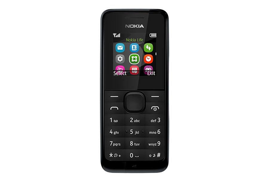 Nokia 105 DS, BlackA00025708Nokia 105 - эффектный телефон с цветным экраном в черном корпусе. Яркий и простой дизайн и надежная клавиатура с защитой от пыли и брызг, обеспечивающая эффективную работу телефона.Небольшие, но важные мелочи делают жизнь проще. Например, пять программируемых будильников. Говорящие часы. Фонарик, чтобы осветить путь в темноте. В Nokia 105 также встроено FM-радио - достаточно подключить гарнитуру, чтобы погрузиться в мир музыки.Телефон имеет русифицированную клавиатуру.