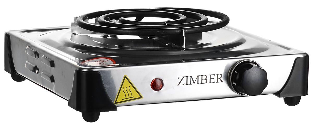 Zimber ZM-10069, Silver настольная электроплита