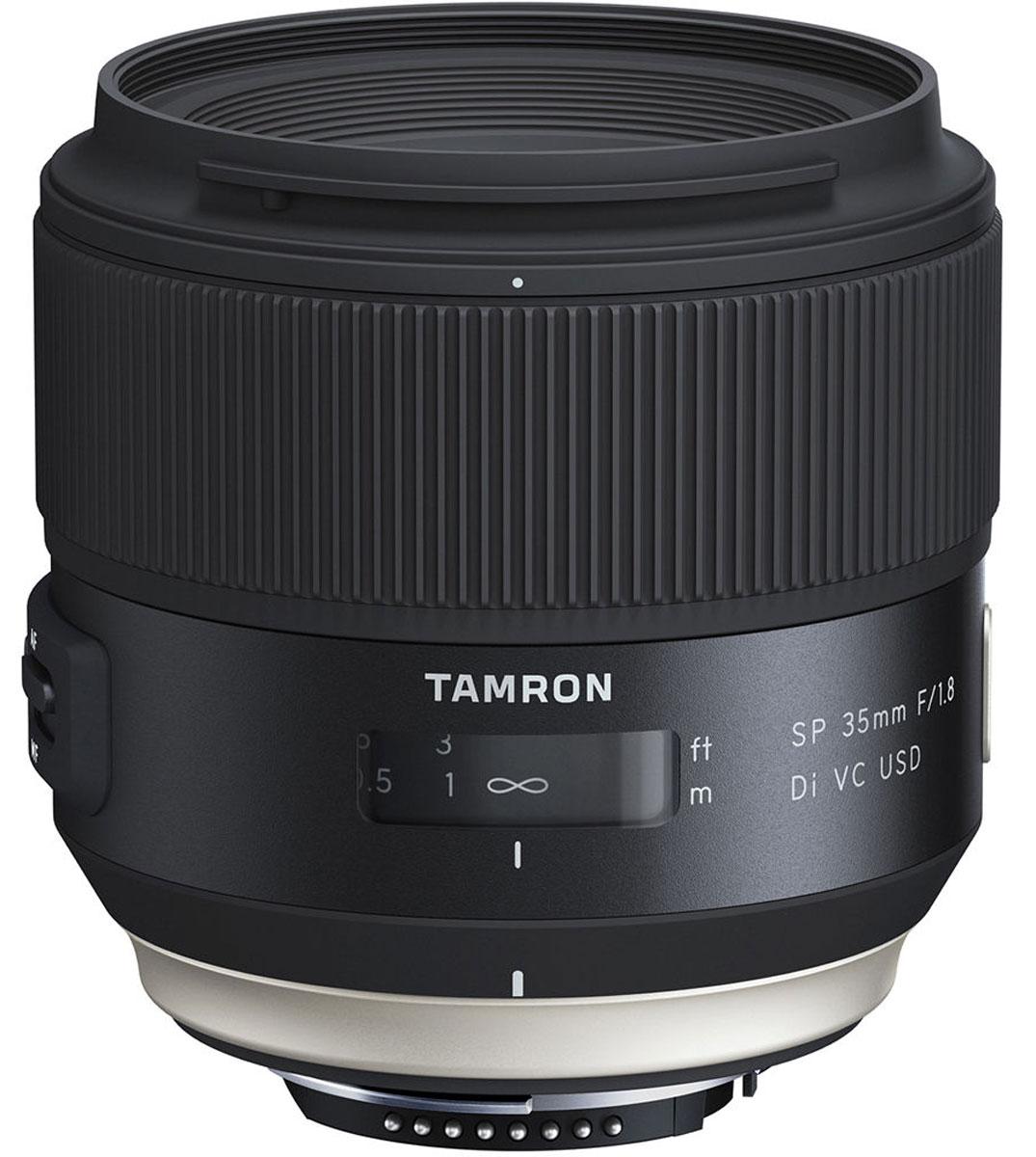 Tamron SP 35mm F/1.8 DI VC USD, Black объектив для Nikon