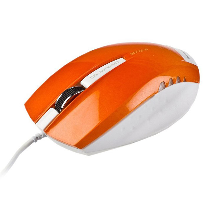 E-Blue EMS102 Dynamic, Orange мышь проводная - Клавиатуры и мыши