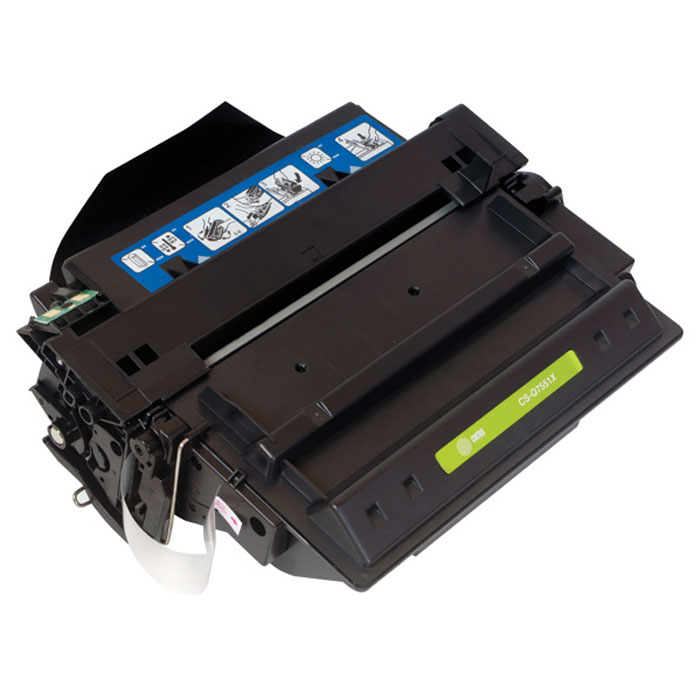 Cactus CS-Q7551XS, Black тонер-картридж для HP LaserJet P3005/M3027/M3035 картридж для принтера и мфу cactus cs tn2275 black