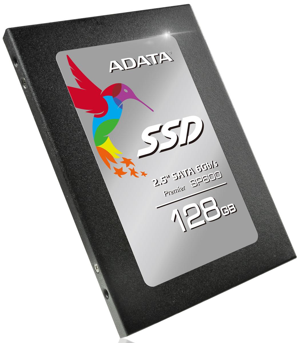 ADATA Premier Pro SP600 128GB SSD-накопительASP600S3-128GM-CADATA Premier Pro SP600 оснащен новейшей микропрограммой оптимизации и содержит тщательно отобранные микросхемы флэш-памяти. Управляемый контроллером JMicron, этот накопитель характеризуется отличной производительностью со скоростями последовательного чтения и записи в 550 и 430 Мбит/с, при скоростях произвольной записи 4 Кб до 76000/73000 операций ввода-вывода в секунду (IOPS). Для клиентов, желающих впервые осуществить модернизацию устройств хранения данных, этот накопитель, несомненно, станет наилучшим решением. С ростом популярности информационных технологий, с использованием все более разнообразных приложений скорость вычислений стала играть решающее значение при покупке компьютеров. В областях обработки видеозаписей, ретуширования больших изображений и компьютерного черчения эффективность выполнения операций чтения и записи зависит от быстродействия и стабильности устройств хранения данных. Накопитель ADATA Premier Pro SP600 включает специально подобранные микросхемы флэш-памяти от надежных производителей и поддерживает команды Windows TRIM. Как на настольных компьютерах, так и на ноутбуках пользователи будут наслаждаться беспрецедентной скоростью работы. В дополнение к этим преимуществам накопитель SP600 характеризуется низким потреблением энергии, малым выделением тепла и высокой ударопрочностью. Модуль ADATA Premier Pro SP600 для ноутбука позволяет легко оснастить переносной компьютер современным твердотельным накопителем, а оригинальный жесткий диск использовать в качестве внешнего накопителя. Чтобы использовать твердотельный накопитель SP600 в качестве внутреннего диска вашего ноутбука, просто извлеките имеющийся жесткий дисковод и установите блок SP600 в отсек дисковода. Установите старый жесткий дисковод в прилагаемый алюминиевый корпус, и продолжайте использовать его в качестве внешнего или переносного жесткого диска. На твердотельный накопитель ADATA Premier Pro SP600 с первоклассной флэш-пам