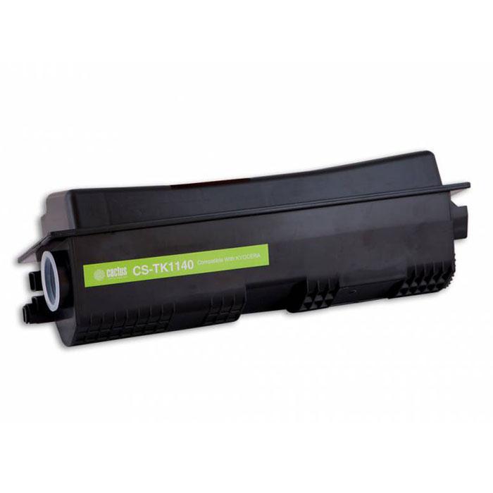 Cactus CS-TK1140, Black тонер-картридж для Kyocera FS-1035MFP DP, 1135MFP