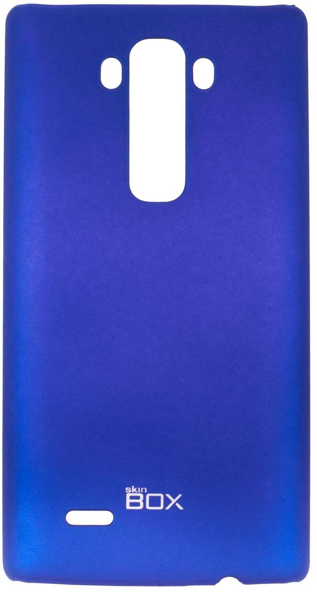 Skinbox 4People чехол для LG G Flex 2, BlueT-S-LGF2-002Чехол-накладка Skinbox 4People для LG G Flex 2 бережно и надежно защитит ваш смартфон от пыли, грязи, царапин и других повреждений. Чехол оставляет свободным доступ ко всем разъемам и кнопкам устройства.