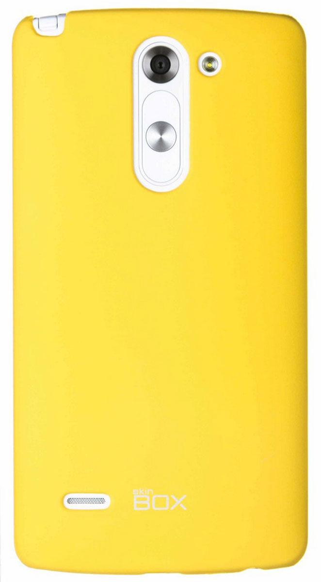Skinbox 4People чехол для LG G3 Stylus, YellowT-S-LG3Stylus-002Чехол-накладка Skinbox 4People для LG G3 Stylus бережно и надежно защитит ваш смартфон от пыли, грязи, царапин и других повреждений. Чехол оставляет свободным доступ ко всем разъемам и кнопкам устройства. В комплект также входит защитная пленка на экран.