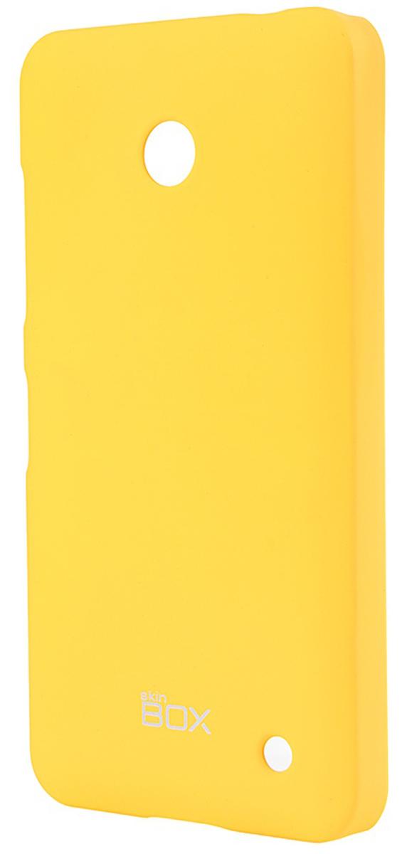 Skinbox 4People чехол для Nokia Lumia 630/635, YellowT-S-NL635-002Чехол-накладка Skinbox 4People для Nokia Lumia 630/635 бережно и надежно защитит ваш смартфон от пыли, грязи, царапин и других повреждений. Чехол оставляет свободным доступ ко всем разъемам и кнопкам устройства. В комплект также входит защитная пленка на экран.