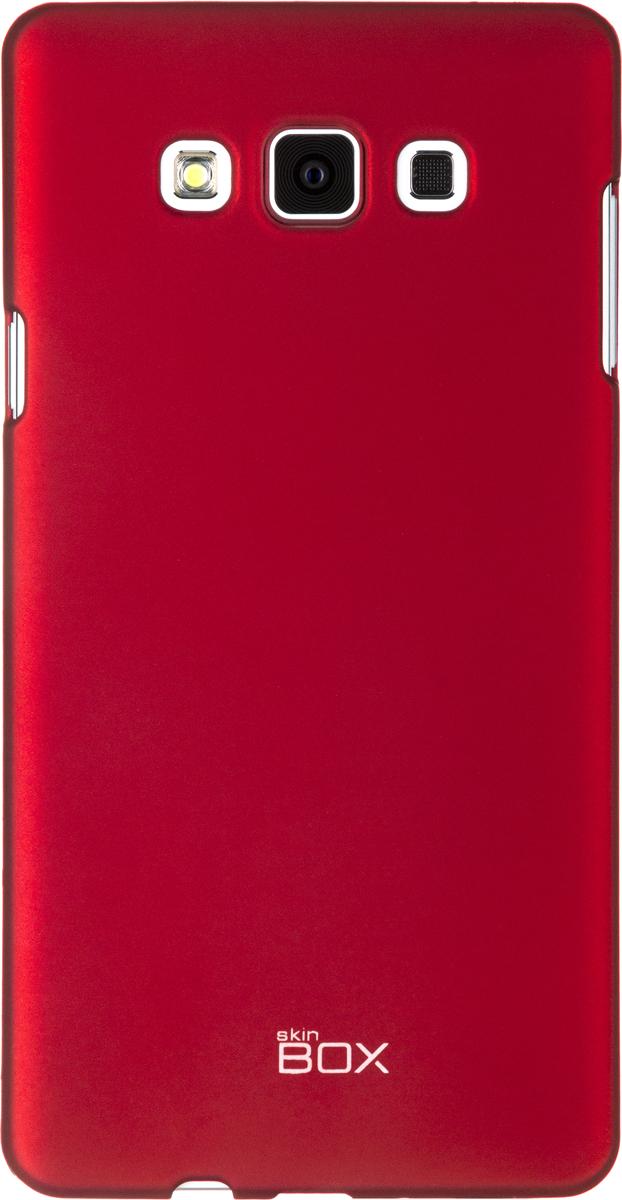 Skinbox 4People чехол для Samsung A700 Galaxy A7, RedT-S-SGA700-002Чехол - накладка Skinbox 4People для Samsung A700 Galaxy A7 бережно и надежно защитит ваш смартфон от пыли, грязи, царапин и других повреждений. Чехол оставляет свободным доступ ко всем разъемам и кнопкам устройства. В комплект также входит защитная пленка на экран.