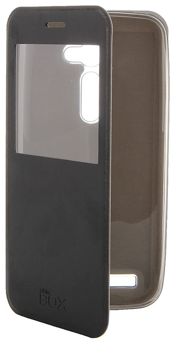 Skinbox Lux AW чехол для Asus ZenFone 2 (ZE500C), BlackT-S-AZE550CL-004Чехол Skinbox Lux AW для Asus ZenFone 2 выполнен из высококачественного поликарбоната и экокожи. Он обеспечивает надежную защиту корпуса и экрана смартфона и надолго сохраняет его привлекательный внешний вид. Чехол также обеспечивает свободный доступ ко всем разъемам и клавишам устройства.