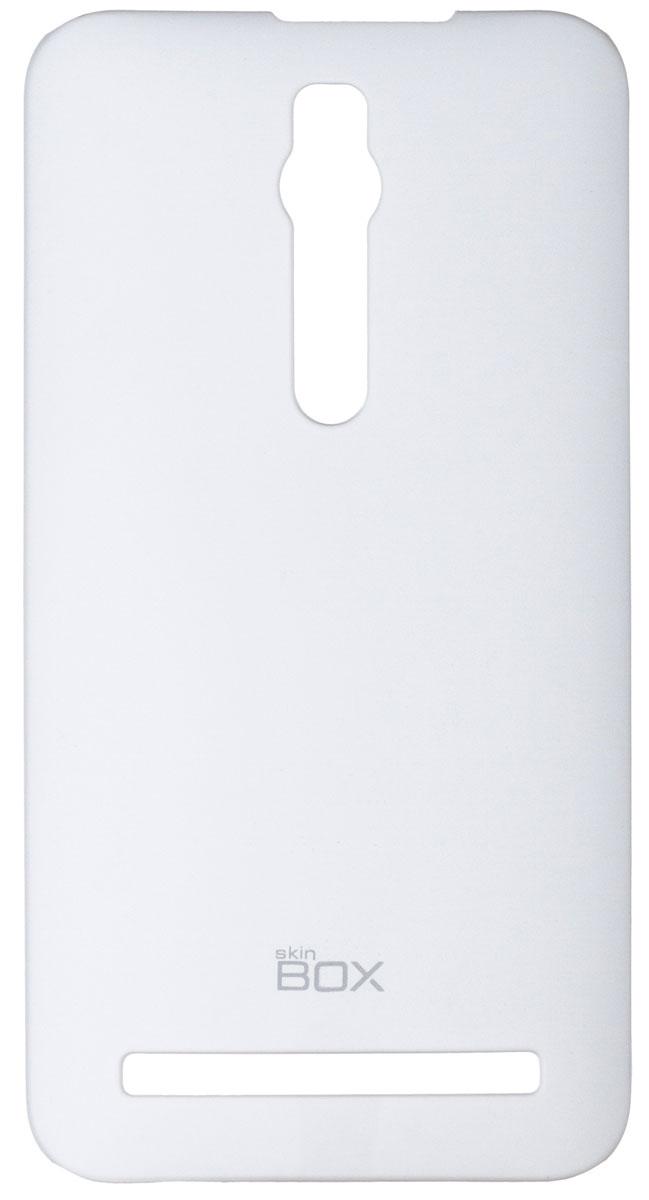 Skinbox 4People чехол для Asus ZenFone 2 (ZE551ML/ZE550ML), WhiteT-S-AZ2-002Чехол-накладка Skinbox 4People для Asus ZenFone 2 (ZE551ML/ZE550ML) бережно и надежно защитит ваш смартфон от пыли, грязи, царапин и других повреждений. Чехол оставляет свободным доступ ко всем разъемам и кнопкам устройства. В комплект также входит защитная пленка на экран.