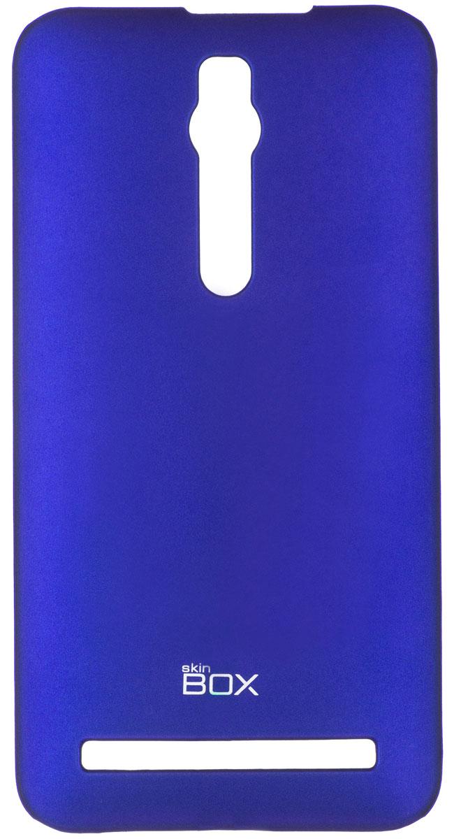 Skinbox 4People чехол для Asus ZenFone 2 (ZE551ML/ZE550ML), BlueT-S-AZ2-002Чехол-накладка Skinbox 4People для Asus ZenFone 2 (ZE551ML/ZE550ML) бережно и надежно защитит ваш смартфон от пыли, грязи, царапин и других повреждений. Чехол оставляет свободным доступ ко всем разъемам и кнопкам устройства. В комплект также входит защитная пленка на экран.