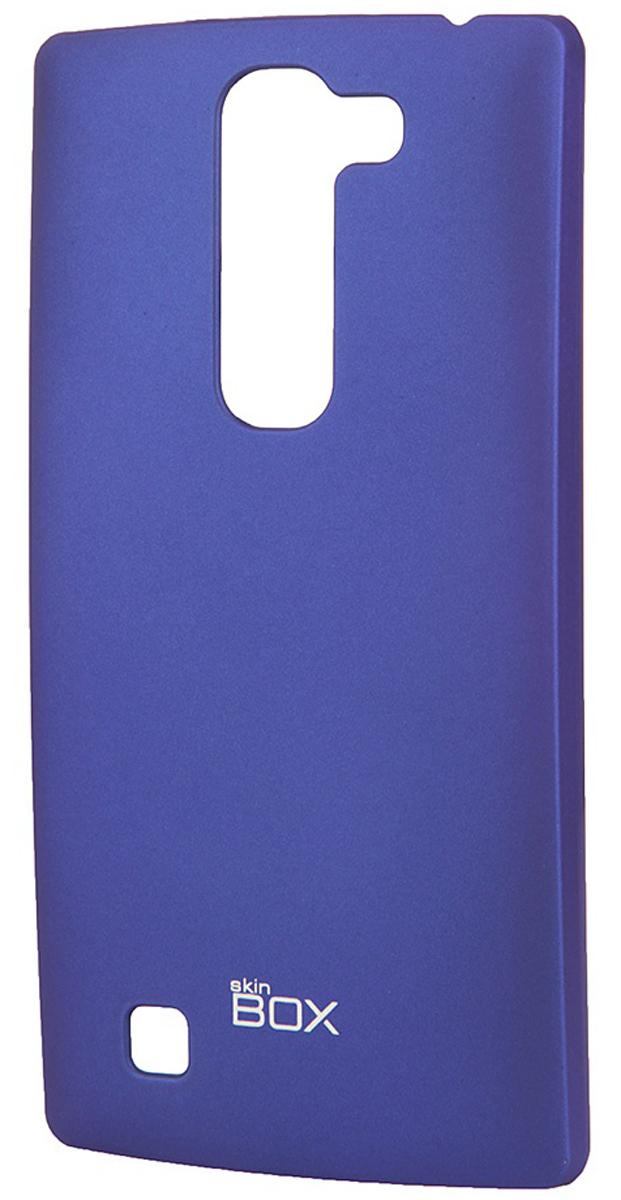 Skinbox 4People чехол для LG Magna, BlueT-S-LM-002Чехол - накладка Skinbox 4People для LG Magna бережно и надежно защитит ваш смартфон от пыли, грязи, царапин и других повреждений. Чехол оставляет свободным доступ ко всем разъемам и кнопкам устройства. В комплект также входит защитная пленка на экран.