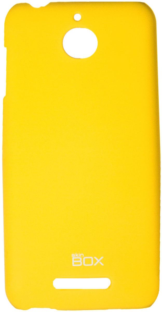 Skinbox 4People чехол для HTC Desire 510, YellowT-S-HD510-002Чехол-накладка Skinbox 4People для HTC Desire 510 бережно и надежно защитит ваш смартфон от пыли, грязи, царапин и других повреждений. Чехол оставляет свободным доступ ко всем разъемам и кнопкам устройства. В комплект также входит защитная пленка на экран.