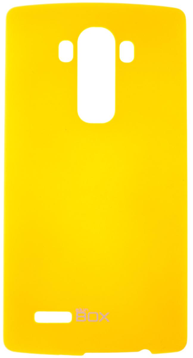 все цены на  Skinbox 4People чехол для LG G4, Yellow  онлайн