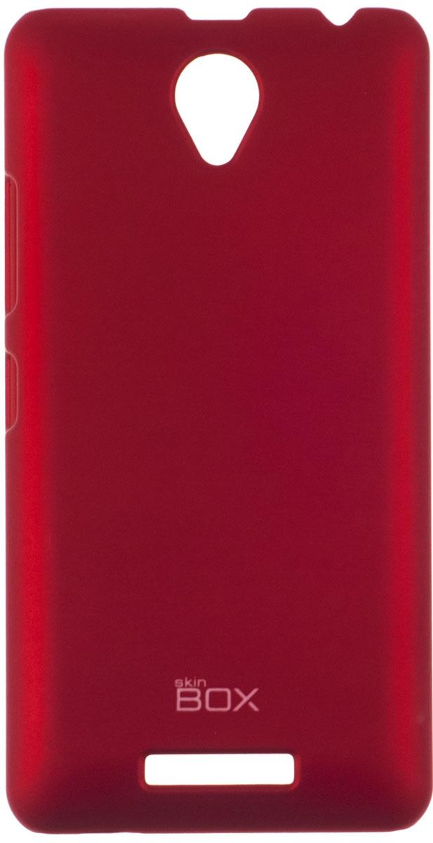 Skinbox 4People чехол для Lenovo A5000, RedP-S-LA5000-002Чехол-накладка Skinbox 4People для Lenovo A5000 бережно и надежно защитит ваш смартфон от пыли, грязи, царапин и других повреждений. Чехол оставляет свободным доступ ко всем разъемам и кнопкам устройства. В комплект также входит защитная пленка на экран.