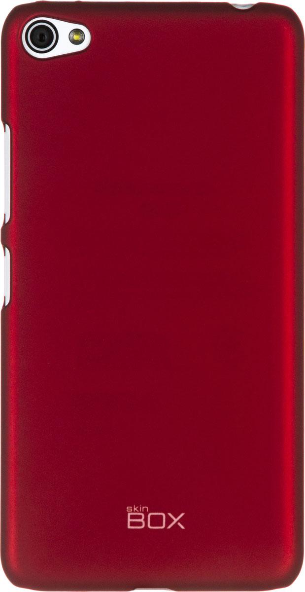 Skinbox 4People чехол для Lenovo S60, RedT-S-LS60-002Чехол - накладка Skinbox 4People для Lenovo S60 бережно и надежно защитит ваш смартфон от пыли, грязи, царапин и других повреждений. Чехол оставляет свободным доступ ко всем разъемам и кнопкам устройства. В комплект также входит защитная пленка на экран.