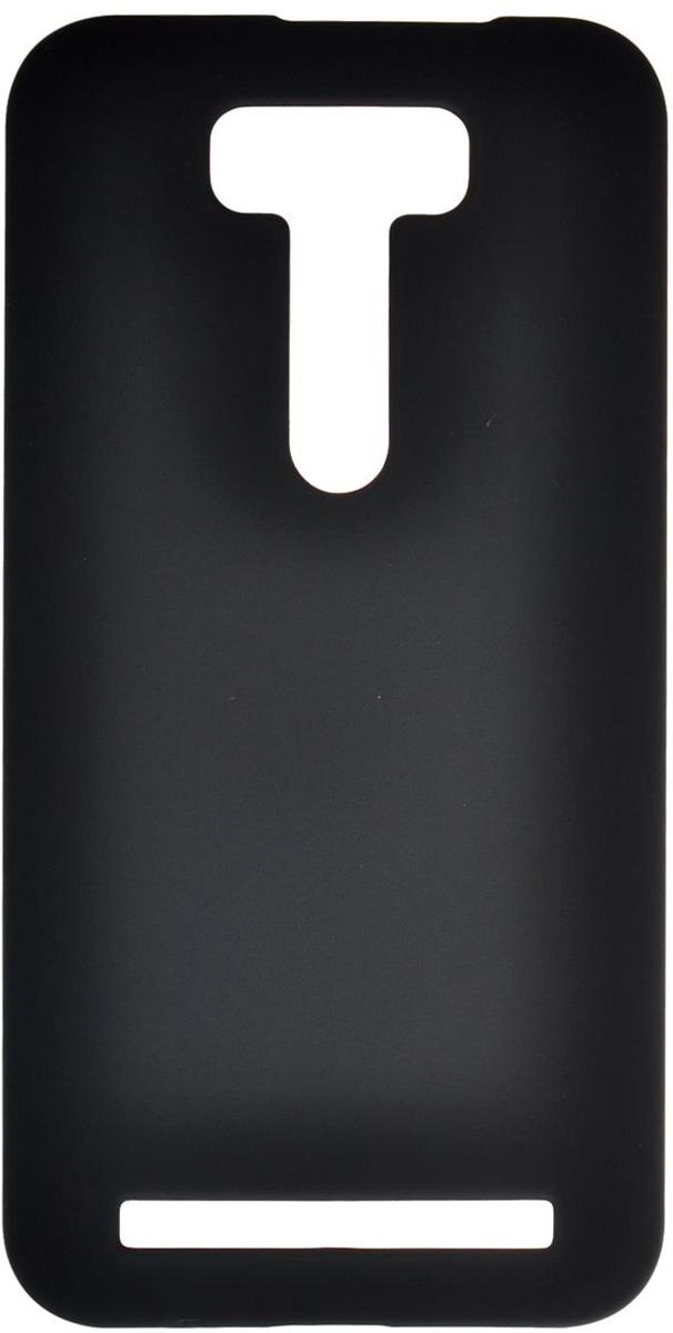 Skinbox 4People чехол для Asus Zenfone 2 Laser (ZE550KL), BlackT-S-AZZE550KL-002Чехол - накладка Skinbox 4People для Asus Zenfone 2 Laser ZE550KL бережно и надежно защитит ваш смартфон от пыли, грязи, царапин и других повреждений. Чехол оставляет свободным доступ ко всем разъемам и кнопкам устройства. В комплект также входит защитная пленка на экран.