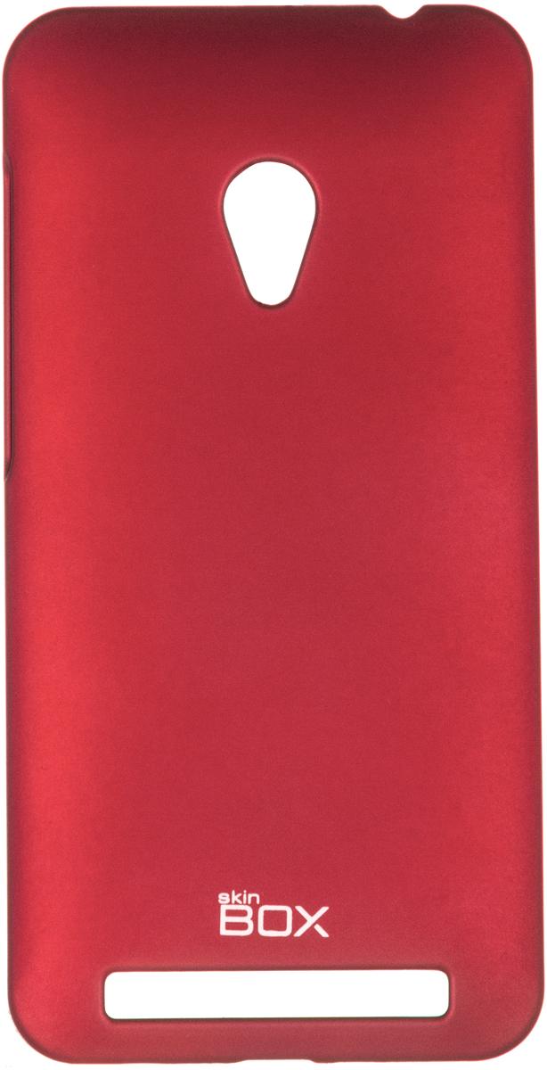 Skinbox 4People чехол для Asus ZenFone 4 (A450CG), WhiteT-S-AZA450CG-002Чехол - накладка Skinbox 4People для Asus ZenFone 4 (A450CG) бережно и надежно защитит ваш смартфон от пыли, грязи, царапин и других повреждений. Чехол оставляет свободным доступ ко всем разъемам и кнопкам устройства. В комплект также входит защитная пленка на экран.