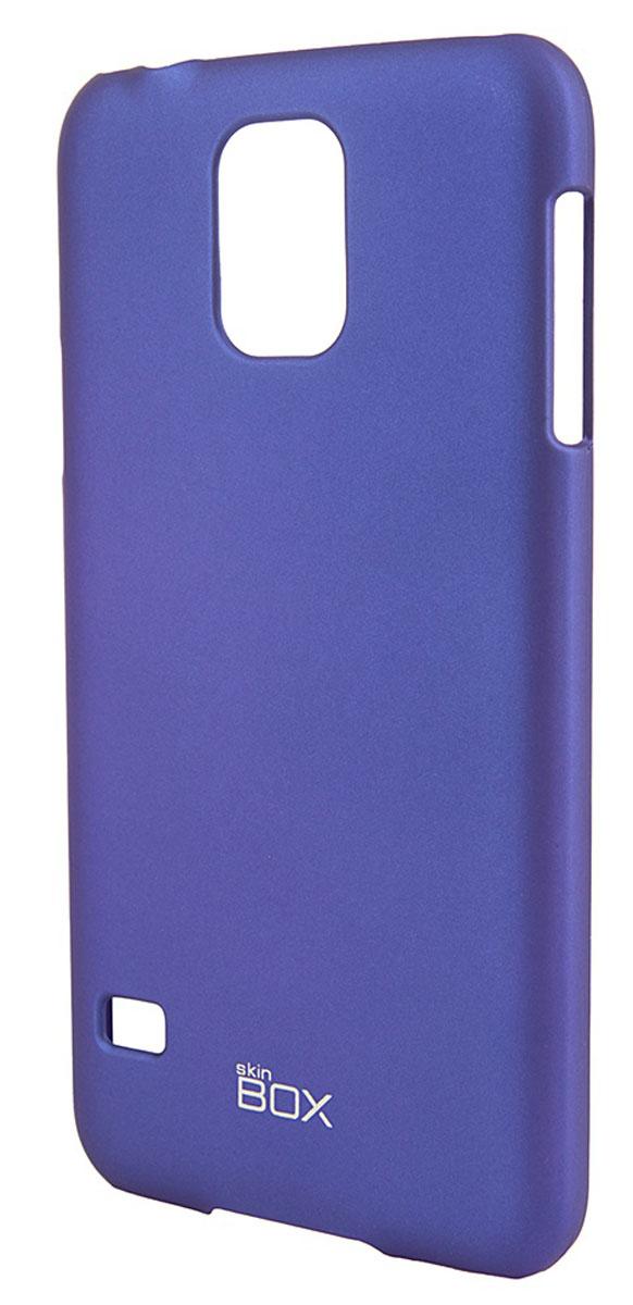 Skinbox 4People чехол для Samsung Galaxy S5, BlueT-S-SGS5-002Чехол - накладка Skinbox 4People для Samsung Galaxy S5 бережно и надежно защитит ваш смартфон от пыли, грязи, царапин и других повреждений. Чехол оставляет свободным доступ ко всем разъемам и кнопкам устройства. В комплект также входит защитная пленка на экран.