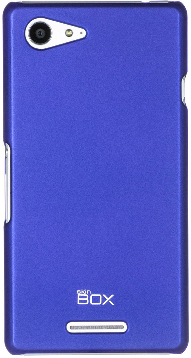 Skinbox 4People чехол для Sony Xperia E3 Dual, Blue чехол для электронной книги skinbox sony xperia t3 d5103