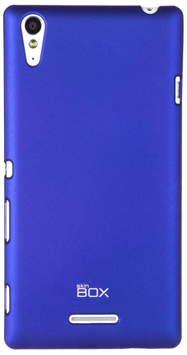 Skinbox 4People чехол для Sony Xperia T3, BlueT-S-SXT3-002Чехол - накладка Skinbox 4People для Sony Xperia T3 бережно и надежно защитит ваш смартфон от пыли, грязи, царапин и других повреждений. Чехол оставляет свободным доступ ко всем разъемам и кнопкам устройства. В комплект также входит защитная пленка на экран.