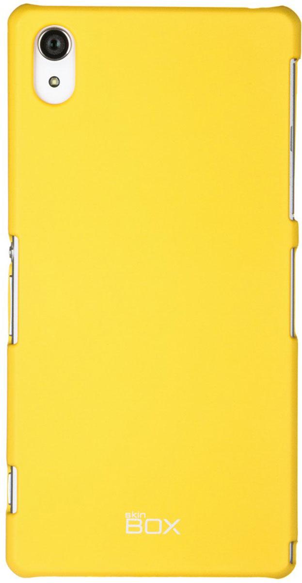 Skinbox 4People чехол для Sony Xperia Z2, YellowT-S-SXZ2-002Чехол - накладка Skinbox 4People для Sony Xperia Z2 бережно и надежно защитит ваш смартфон от пыли, грязи, царапин и других повреждений. Чехол оставляет свободным доступ ко всем разъемам и кнопкам устройства. В комплект также входит защитная пленка на экран.