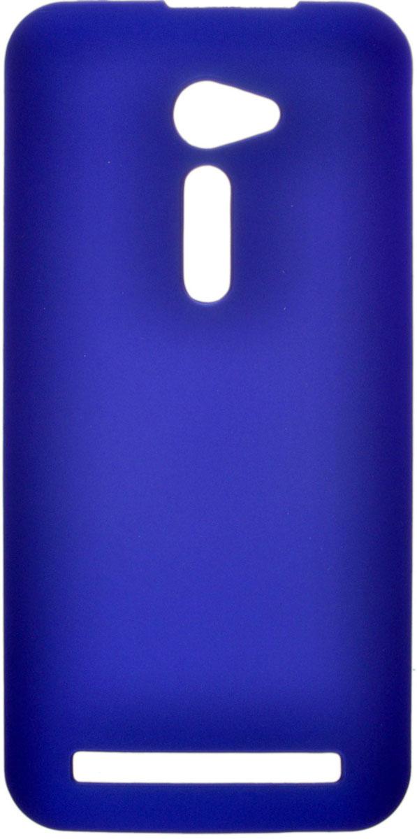 Skinbox 4People чехол для Asus ZenFone 2 (ZE500CL), BlueT-S-AZ25-002Чехол-накладка Skinbox 4People для Asus ZenFone 2 (ZE500CL) бережно и надежно защитит ваш смартфон от пыли, грязи, царапин и других повреждений. Чехол оставляет свободным доступ ко всем разъемам и кнопкам устройства. В комплект также входит защитная пленка на экран.