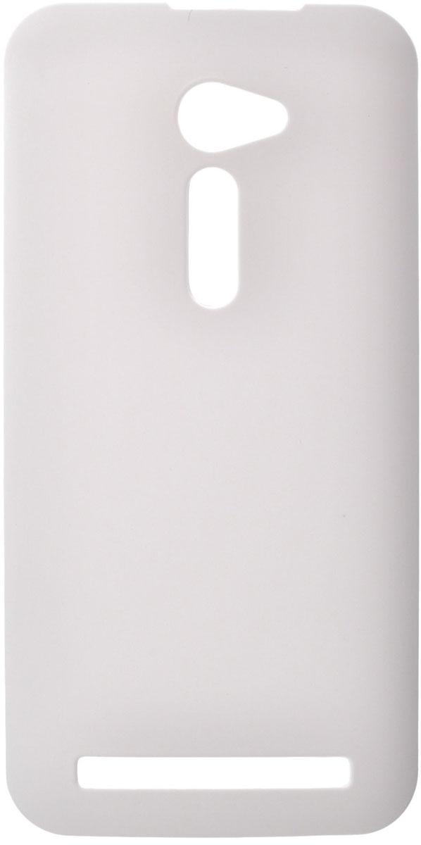 Skinbox 4People чехол для Asus ZenFone 2 (ZE500CL), White аксессуар чехол накладка asus zenfone c zc451cg cherry black 8270