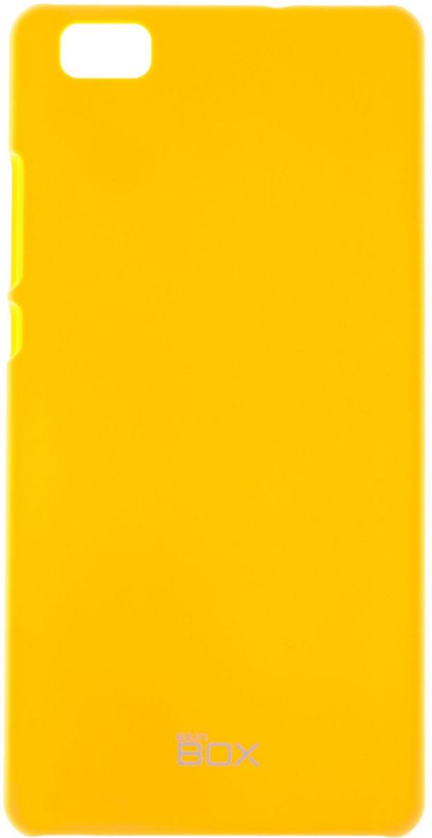 Skinbox 4People чехол для Huawei P8 Lite, YellowT-S-HP8L-002Чехол - накладка Skinbox 4People для Huawei P8 Lite бережно и надежно защитит ваш смартфон от пыли, грязи, царапин и других повреждений. Чехол оставляет свободным доступ ко всем разъемам и кнопкам устройства. В комплект также входит защитная пленка на экран.
