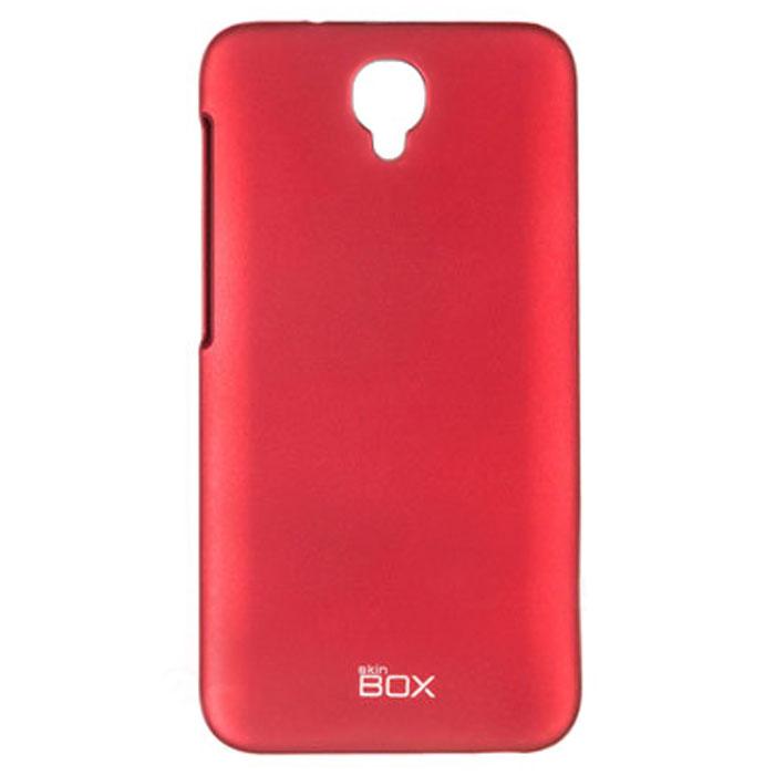 все цены на  Skinbox 4People чехол для Alcatel Idol 2, Red  онлайн