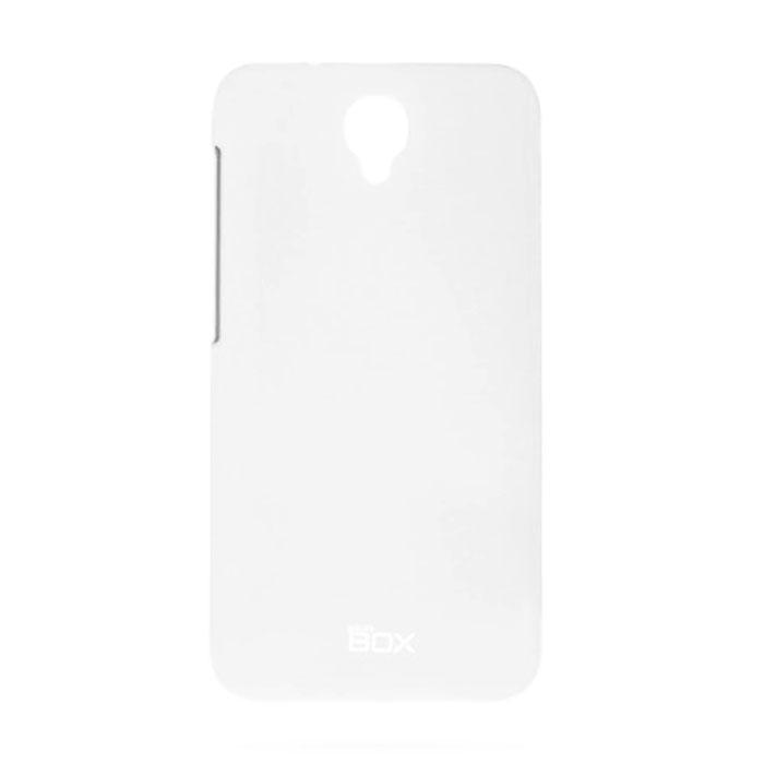 Skinbox 4People чехол для Alcatel Idol 2, WhiteT-S-AI2-002Чехол - накладка Skinbox 4People для Alcatel Idol 2 бережно и надежно защитит ваш смартфон от пыли, грязи, царапин и других повреждений. Чехол оставляет свободным доступ ко всем разъемам и кнопкам устройства. В комплект также входит защитная пленка на экран.