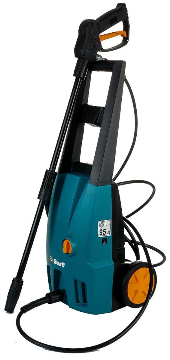 Мойка высокого давления Bort BHR-2000-SC98296075Мойка высокого давления Bort BHR-2000-SC предназначена для очистки садовой мебели и дорожек. Она также подходит для мойки автомобиля, очистки фасада здания от осевшей пыли и для других похожих работ. Одна из особенностей этой мойки - функция самовсасывания воды. Функция позволяет без труда начать пользоваться мойкой при любом источнике воды, вам не нужно подключать ее к центральному водоснабжению. Благодаря небольшому весу и длинному шлангу, пользоваться изделием очень удобно, а высокое рабочее давление в 85 бар помогает справиться с уборкой быстро. Модель оснащена функцией автоматического отключения - полная остановка мойки после того, как вы отпустите курок пистолета и запуск по нажатию курка после остановки. Данная мойка отличается долговечностью, благодаря качественным материалам сборки и защиты двигателя от перегрузок.Максимальное давление: 120 бар.Рабочее давление: 85 бар.Максимальная производительность: 300 л/час.Длина шланга: 5 м.