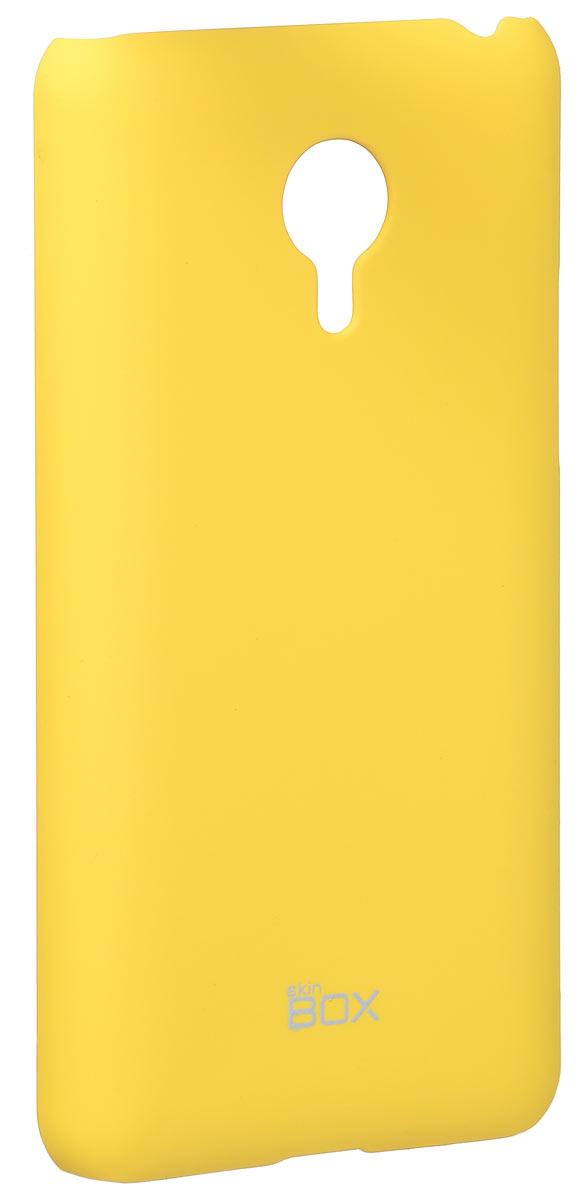 Skinbox 4People чехол для Meizu MX4 Pro, YellowT-S-MX4P-002Накладка Skinbox 4People для Meizu MX4 Pro выполнена из высококачественного поликарбоната. Она бережно и надежно защитит ваш смартфон от пыли, грязи, царапин и других повреждений. Чехол оставляет свободным доступ ко всем разъемам и кнопкам устройства.