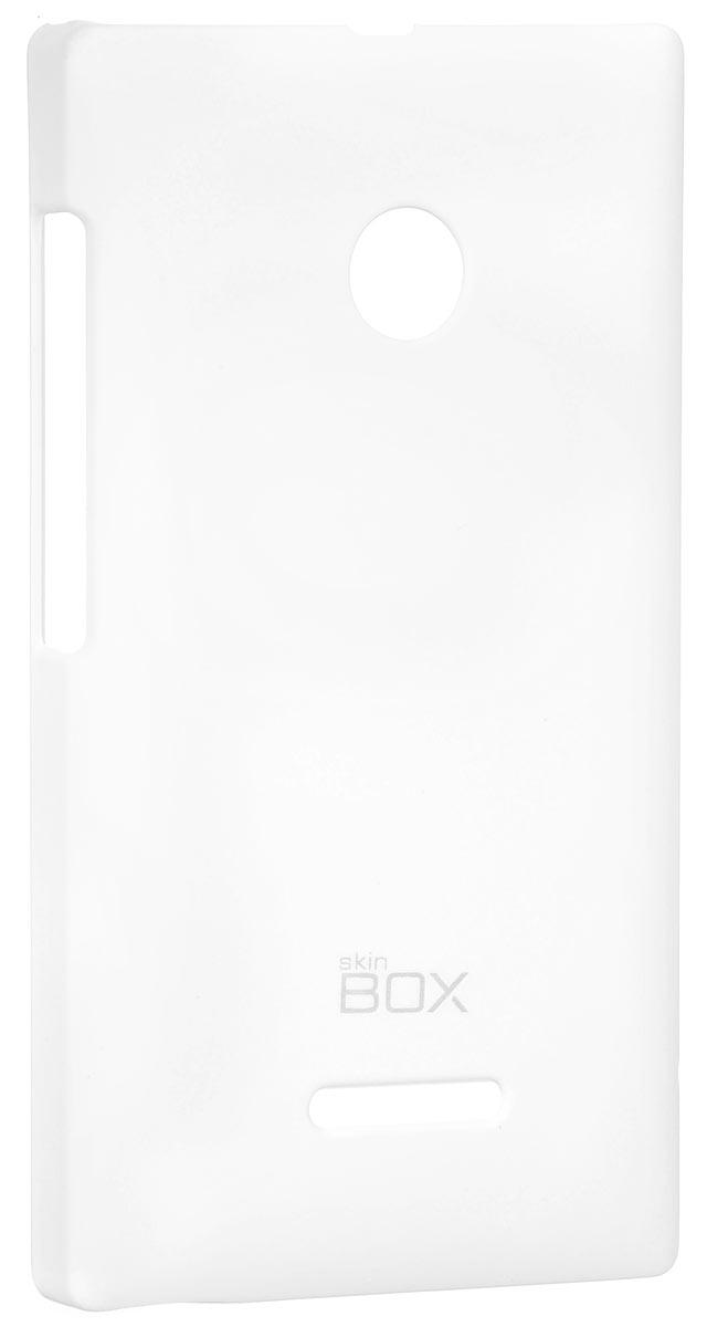 Skinbox 4People чехол для Microsoft Lumia 435/532, WhiteT-S-ML532-002Накладка Skinbox 4People для Microsoft Lumia 435/532 выполнена из высококачественного поликарбоната. Она бережно и надежно защитит ваш смартфон от пыли, грязи, царапин и других повреждений. Чехол оставляет свободным доступ ко всем разъемам и кнопкам устройства.