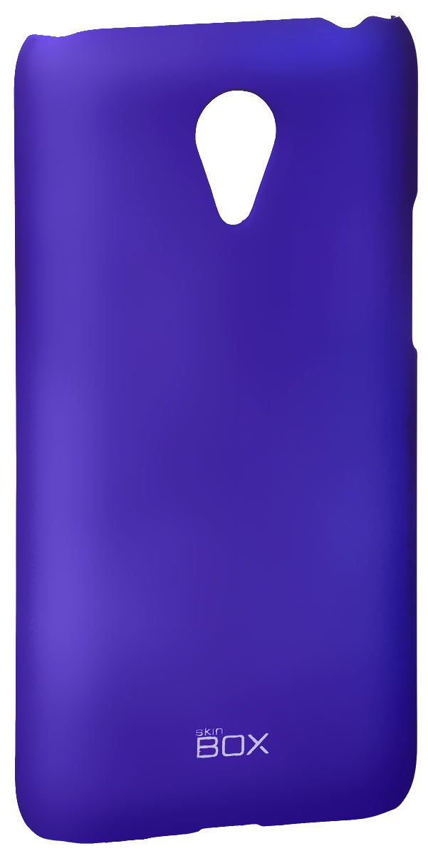 Skinbox 4People чехол для Meizu M1 Note, BlueT-S-MM1-002Накладка Skinbox 4People для Meizu M1 Note выполнена из высококачественного поликарбоната. Она бережно и надежно защитит ваш смартфон от пыли, грязи, царапин и других повреждений. Чехол оставляет свободным доступ ко всем разъемам и кнопкам устройства.
