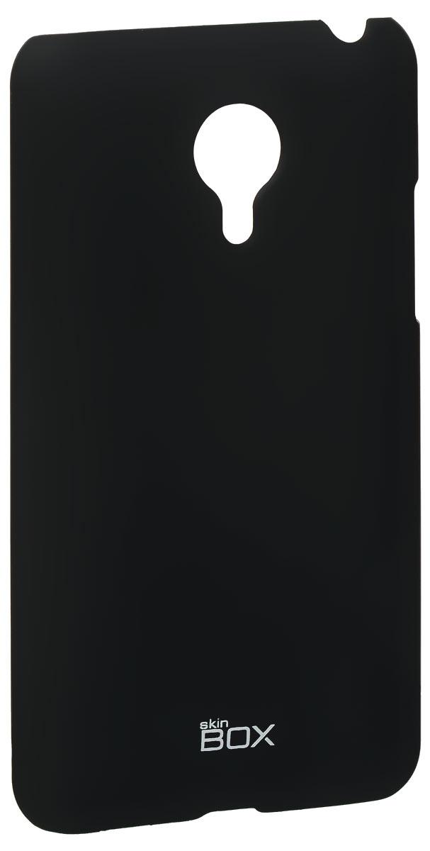 Skinbox 4People чехол для Meizu MX4, BlackT-S-MX4-002Накладка Skinbox 4People для Meizu MX4 выполнена из высококачественного поликарбоната. Она бережно и надежно защитит ваш смартфон от пыли, грязи, царапин и других повреждений. Чехол оставляет свободным доступ ко всем разъемам и кнопкам устройства.