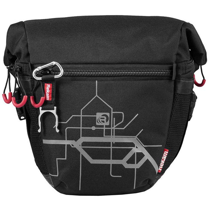 Rekam Pyramid RBX-57, Black сумка для фотокамеры1401101231Стильная, эргономичная сумка Rekam Pyramid RBX-57 предназначена для зеркальной фотокамеры. Прочный материал, надежные молнии и крепления, обеспечивают максимальную защиту фототехники. Дополнительные отсеки и карманы позволяют разместить выносную фотовспышку и пару аксессуаров.Благодаря отсеку для личных вещей, который при необходимости удобно складывается и не занимает места, сумка отлично подходит для отдыха и путешествий.
